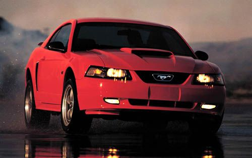 2003 Mustang GT - 260 HP at 5250 RPM, 302 lb-ft of torque at 4000 RPM, 0 to 60 in 5.4 seconds