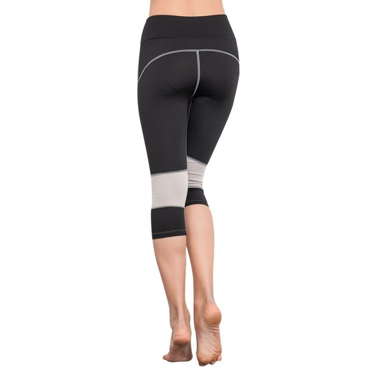 Outdoor  Women Leggings High Waist Yoga Training Push-up Stretch Slim Pants