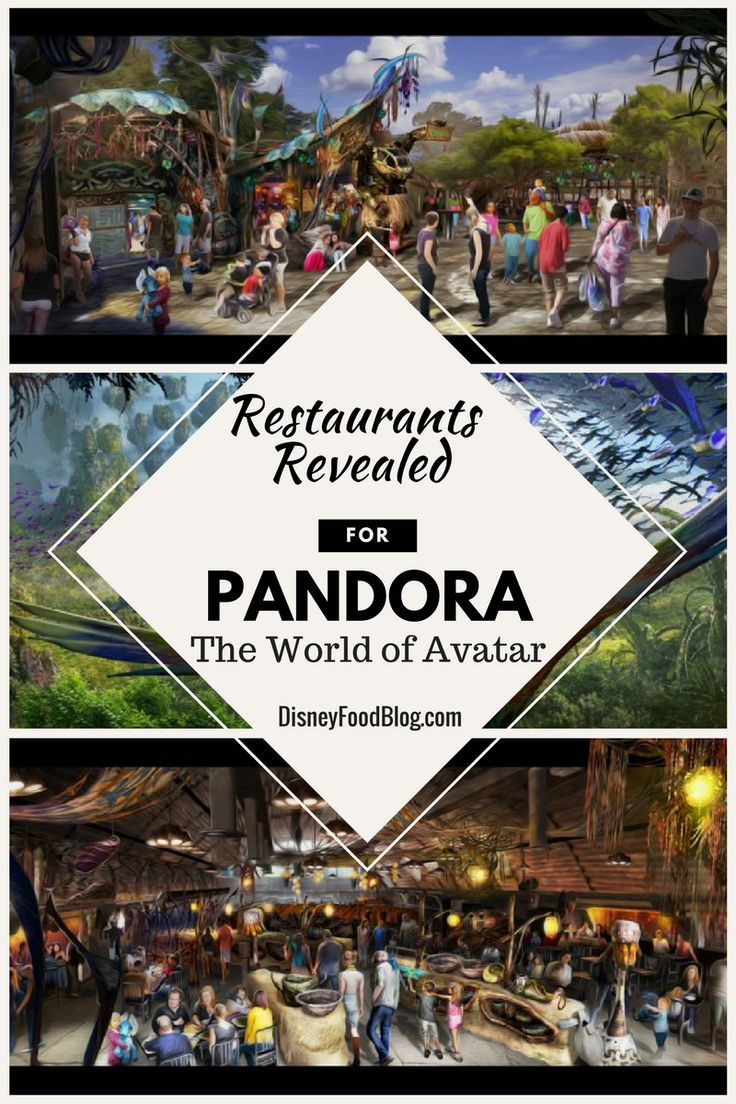 New Restaurants Revealed for Pandora — The World of Avatar, in Disney's Animal Kingdom