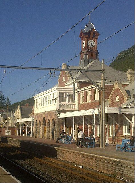 Muizenburg Station in Muizenberg, Western Cape. #muizenberg #muizenbergstation