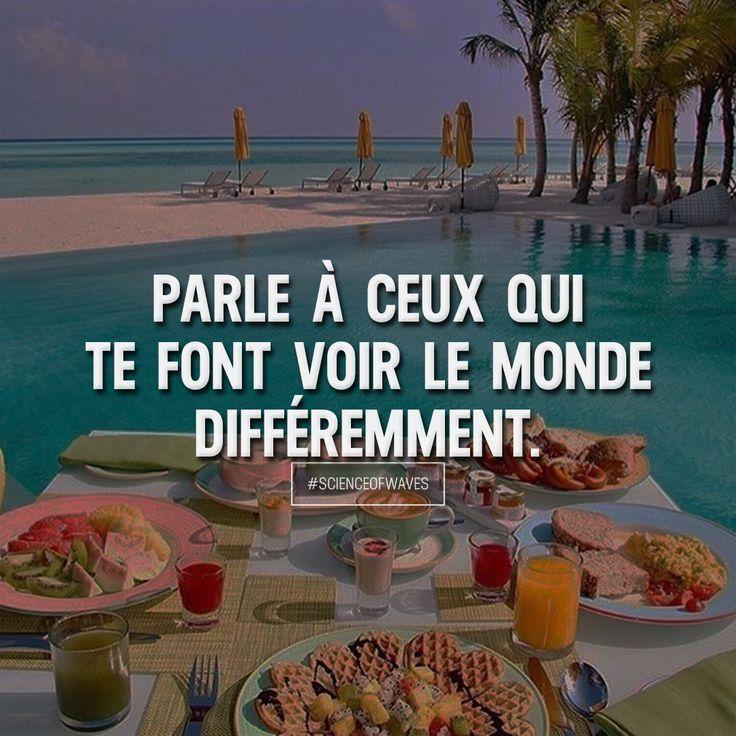Parle à ceux qui te font voir le monde différemment. Aime et commente si tu es d'accord! ➡️ @luxuvore for more!
