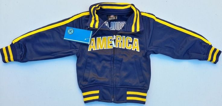 "Club America Aguilas Youth Blue Soccer Full Zipper Track Jacket NWT ""Unbranded"" #Unbranded #Amrica"