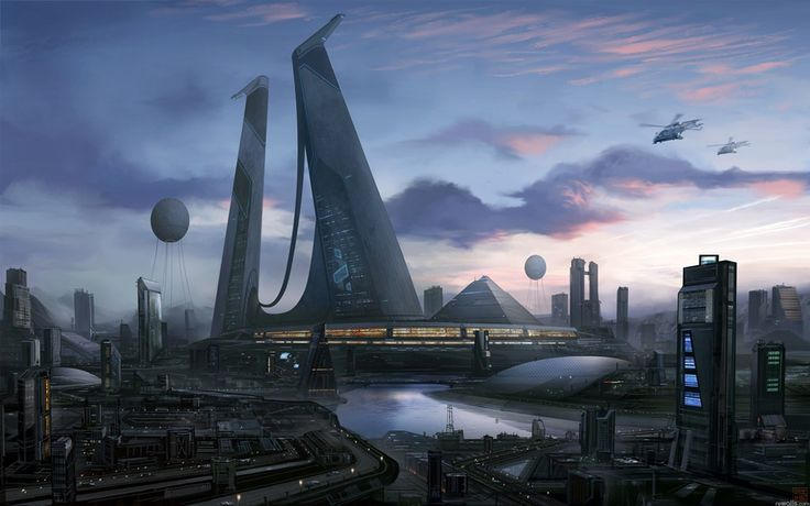 Картинки по запросу футуристическая архитектура