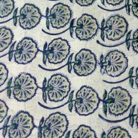 Indian Block Print Fabric #Soft Cotton Fabric #Jaipuri Cotton #Indian Handblock Print #Designer Fabric Soft Cotton Fabric