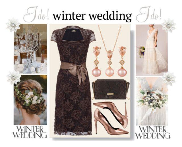 True Romance: Winter Wedding by igiulia on Polyvore featuring Temperley London, Alexander Wang, Henri Bendel, LE VIAN and winterwedding