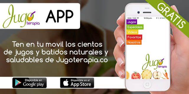 Descargar la App de Jugoterapia.co