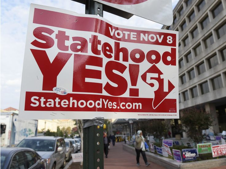 District voters overwhelmingly approve referendum to make D.C. the 51st state