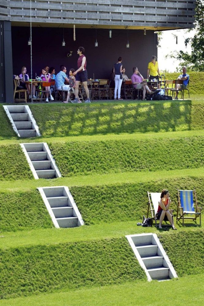 Fort Werk aan 't Spoel / Rietveld Landscape   Atelier de Lyon   # Pinterest++ for iPad #