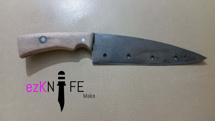 Knife making - Making kitchen knife from Chainsaw Bar