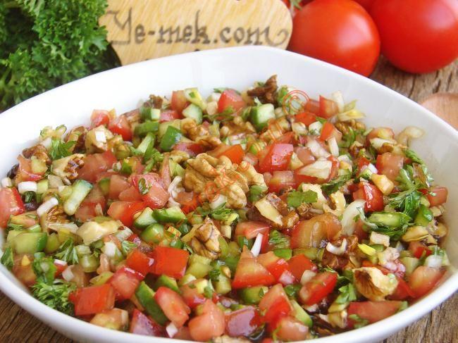 Gavurdağı Salatası nasıl yapılır? Kolayca yapacağınız Gavurdağı Salatası tarifini adım adım RESİMLİ olarak anlattık. Eminiz ki Gavurdağı Salatası tarifimizi yap