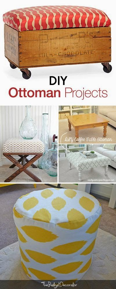 DIY Ottoman Projects