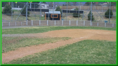 Our Baseball Backboard at Gateway High School