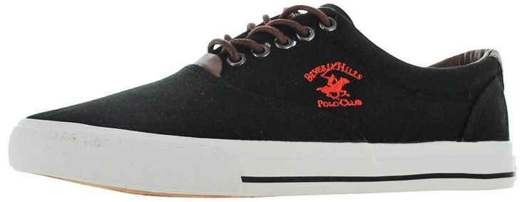 Beverly Hills Polo Club Men's Canvas Fashion Boat Sneakers