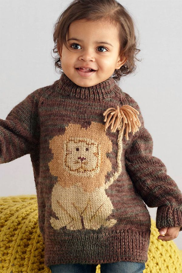 d6850f628 Pullover in Lion Brand Wool-Ease - L10010 Free