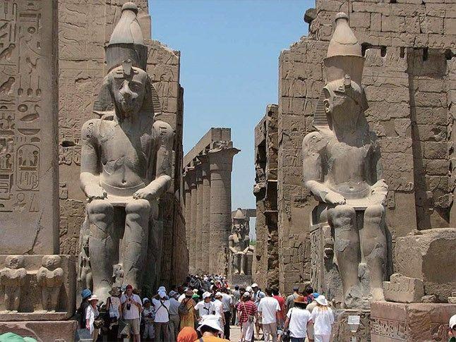 Thebes - Luxor, Upper Egypt : navercast (naver.com, Korea)