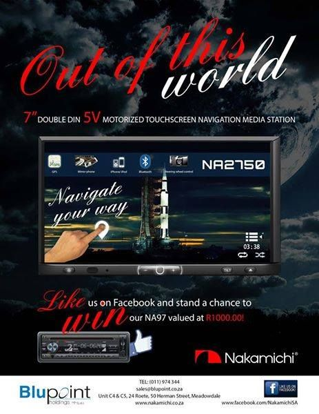 Get your hands on the new Speed and Sound Magazine - like our page Nakamichi SA and you could stand a chance to #WIN!  #NakamichiSA #InCarEntertainment #CarAudio