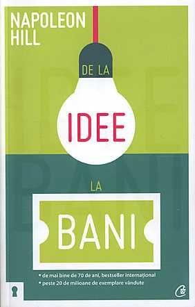De la idee la bani. Editia a II-a, http://www.e-librarieonline.com/de-la-idee-la-bani-editia-a-ii-a/