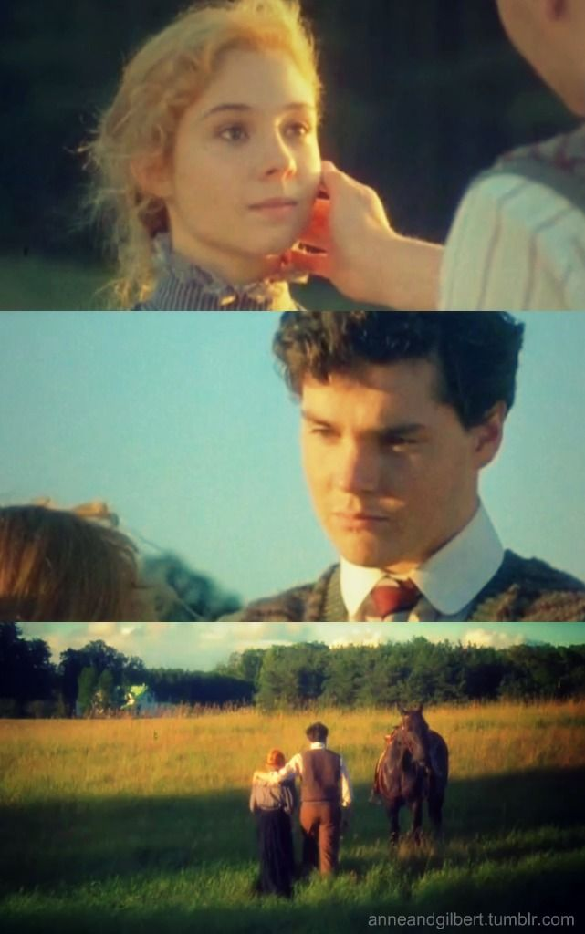 ANNE:Thank you, for giving up the school for me, Gilbert. It's very good of you and I want you to know that I appreciate it.  GILBERT:I figure you can give me help with my work, and I'll call it a fair exchange.  ANNE:Aren't you worried? I'm liable to break another slate over your head.  GILBERT:I'm more worried I might break one over yours,Carrots.