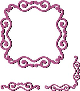 Ornamental Frame Border Corner Set