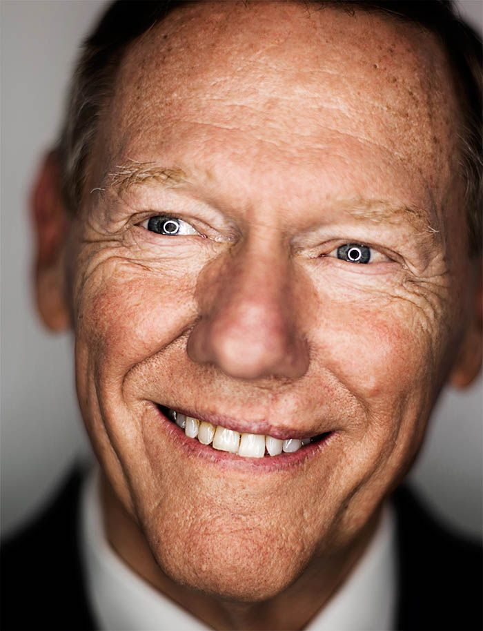 """Alan Mulally, CEO of Ford : """"It was from my mother, and it was that the purpose of life is to LOVE AND BE LOVED - IN THAT ORDER."""" From Esquire's Life of Man, number 68"""