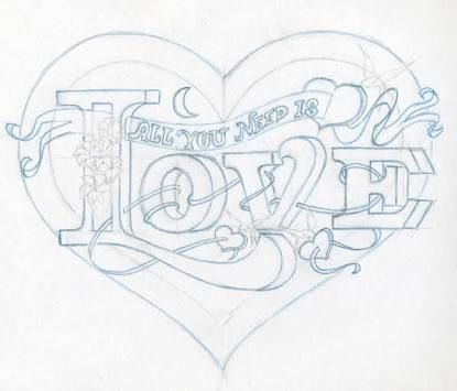 17 best images about love on pinterest abstract acrylic for Love drawing ideas