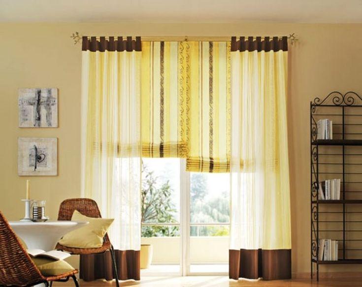 deko ideen gardinen wohnzimmer dekoideen gardinen ...