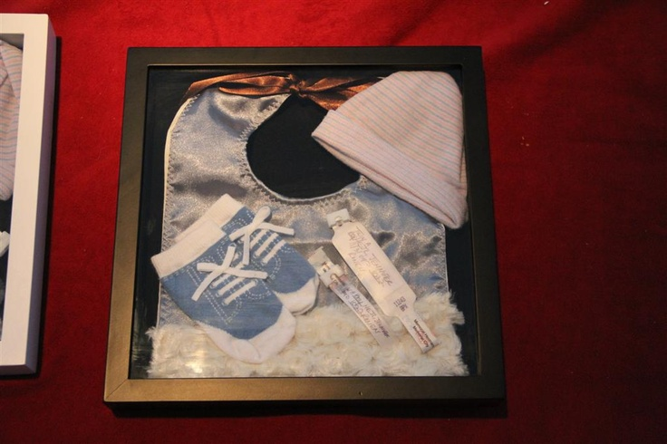 Infant Shadow Box - Things I couldn't get rid of: Crafts Ideas, Infants Shadows, Growing Child, Shadow Box, Baby Things, Crafts Inspiration, Shadows Boxes, Kids Rooms, Baby Stuff