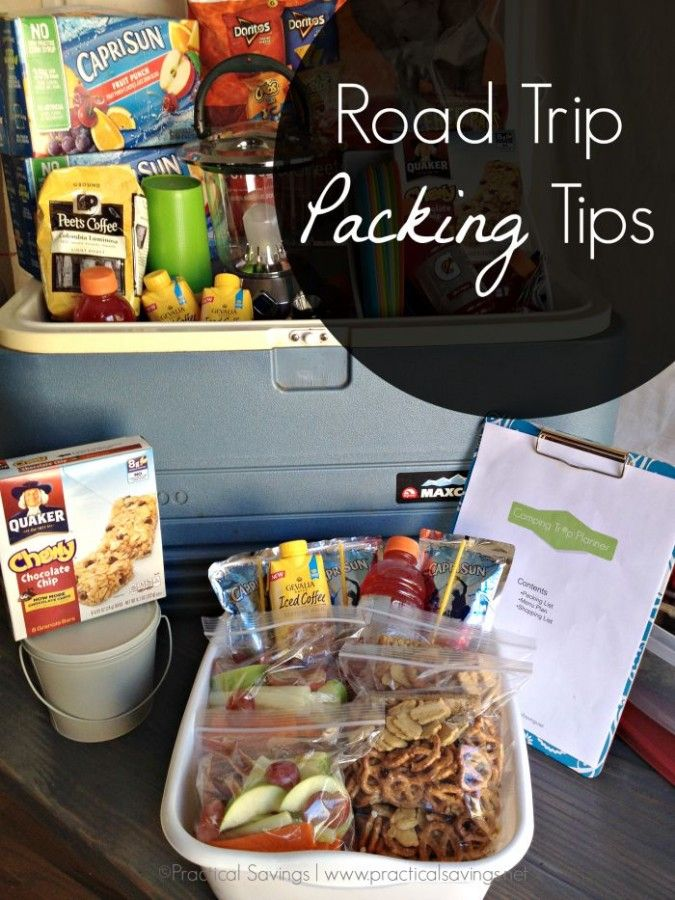 Road Trip Tips [ad] - Taking a last minute road trip or camping trip? Here are some tips for packing. Plus a FREE Camping Trip Planner printable.