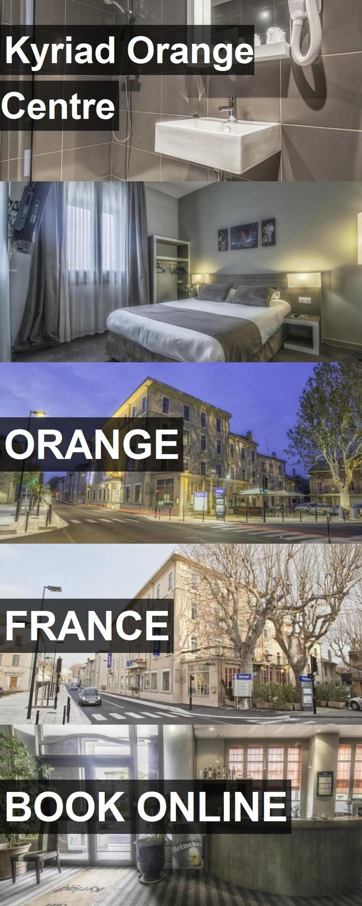 Hotel Kyriad Orange Centre in Orange, France. For more information, photos, reviews and best prices please follow the link. #France #Orange #KyriadOrangeCentre #hotel #travel #vacation