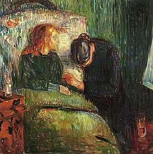 The Sick Child by Edvard Munch, 1896