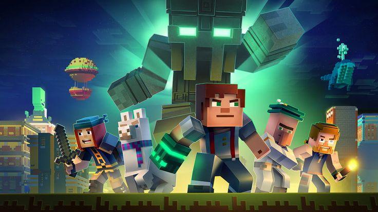 Minecraft: Story Mode - Season Two v1.01 (Unlocked) Apk Mod  Data http://www.faridgames.tk/2017/07/minecraft-story-mode-season-two-v101.html
