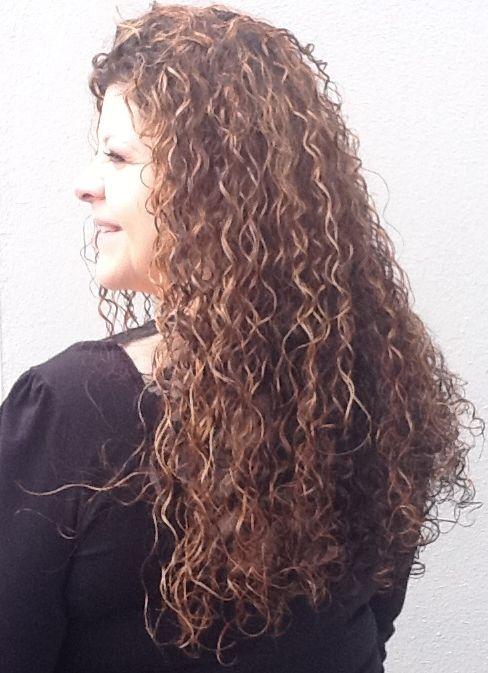 Wavy Perm | Regular Perm - Curly Hair - Hair Salon SERVICES - best prices - Mila's ...