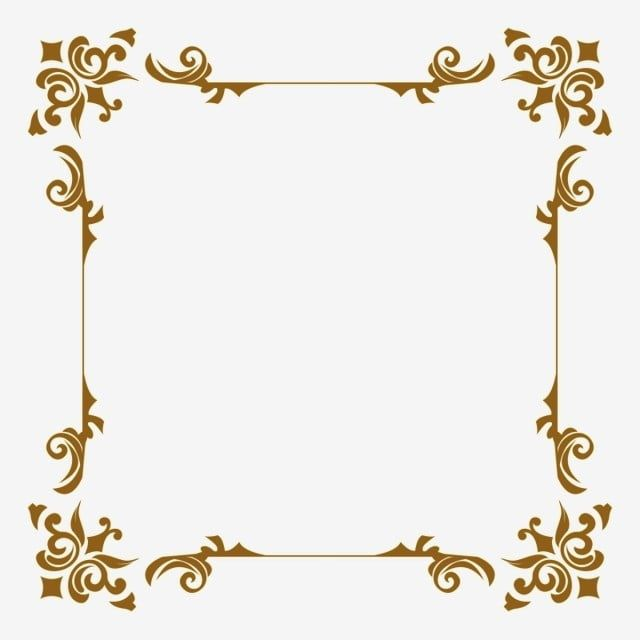 Decorative Ornament Frame Border Rectangle Clipart Frame Decor Png Transparent Clipart Image And Psd File For Free Download Ornament Frame Gold Photo Frames Gold Clipart