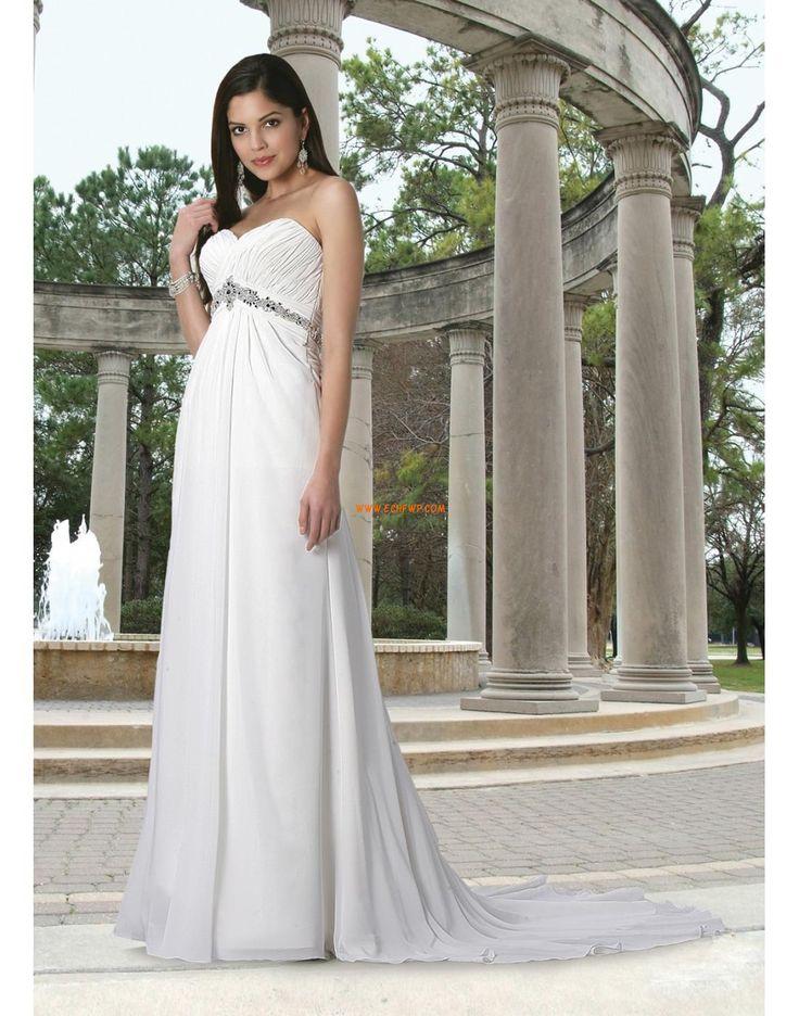 A-line Balayage / pinceau train Classique & Intemporel Robes de mariée 2014