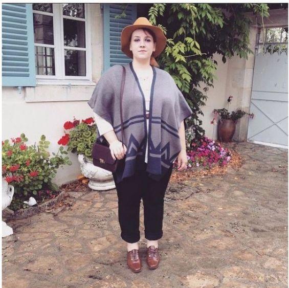 #KiabiCurves look Kiabi by Audrey Big or not to big #poncho