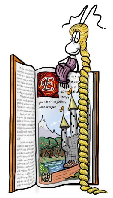 Rapunzel, por Pirineu || #livro #leitura #conto de fadas #traça #tracinha #rapunzel