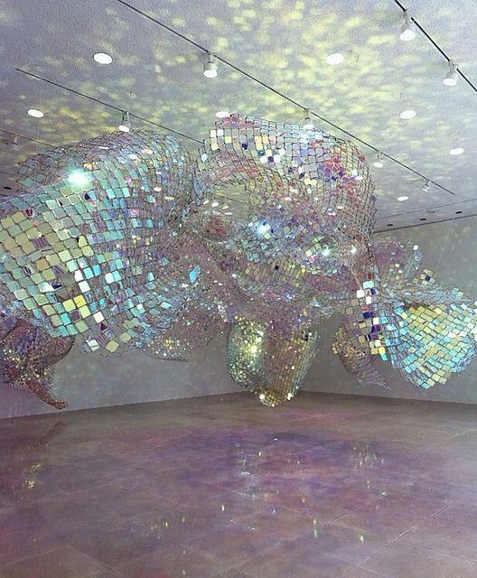 """Soo Sunny Park's Unwoven Light   Soo Sunny Park """"Unwoven Light"""" - Rice University Art Gallery - Houston ..."""