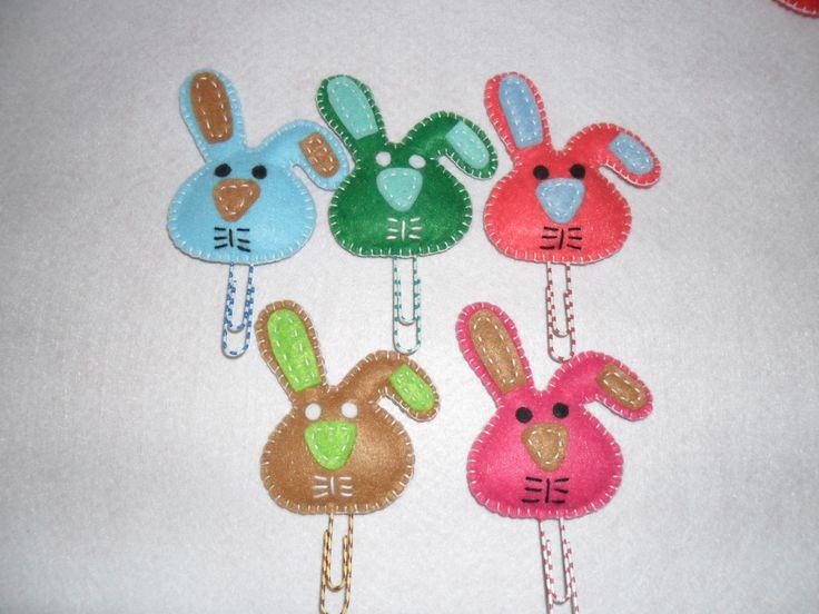 coelhos marcadores de pagina