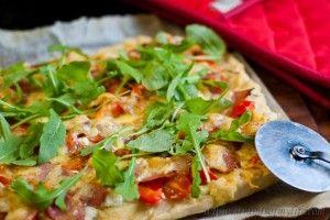 Bacon & Feta Pizza - low Fodmap