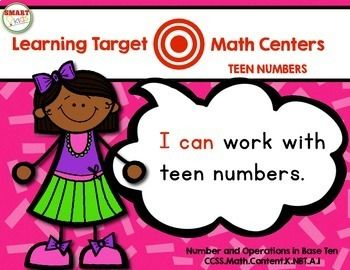 Ready to take aim at the Common Core math standards? Encouraging your little ones to identify their learning targets? These centers were designed for smart, busy teachers! You'll find six fun centers aligned to the Number & Operations in Base Ten Common Core math standards.