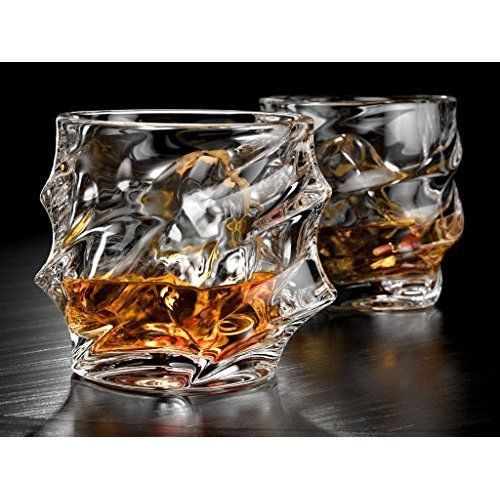 glasses for drink vintage whiskey glass scotch glasses liquor glaas set of 2 - Scotch Glass