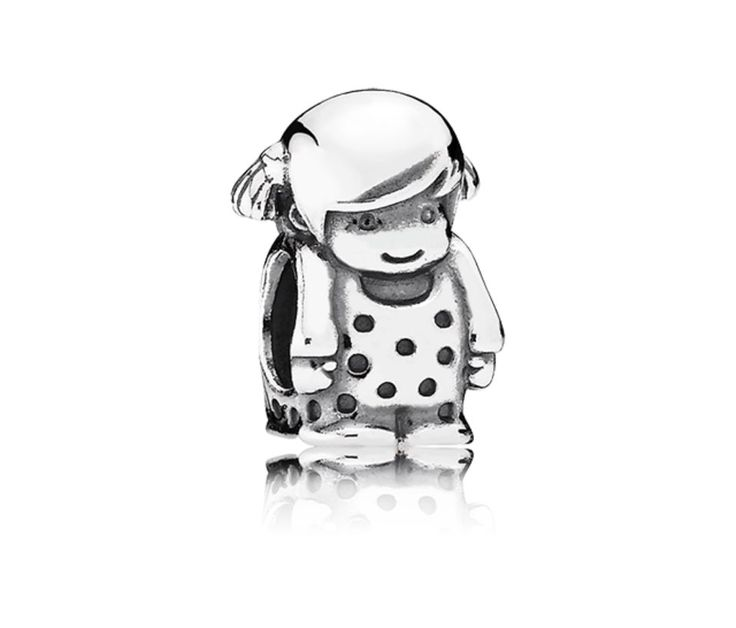 Girl Silver Charm                                                        price: 139 his
