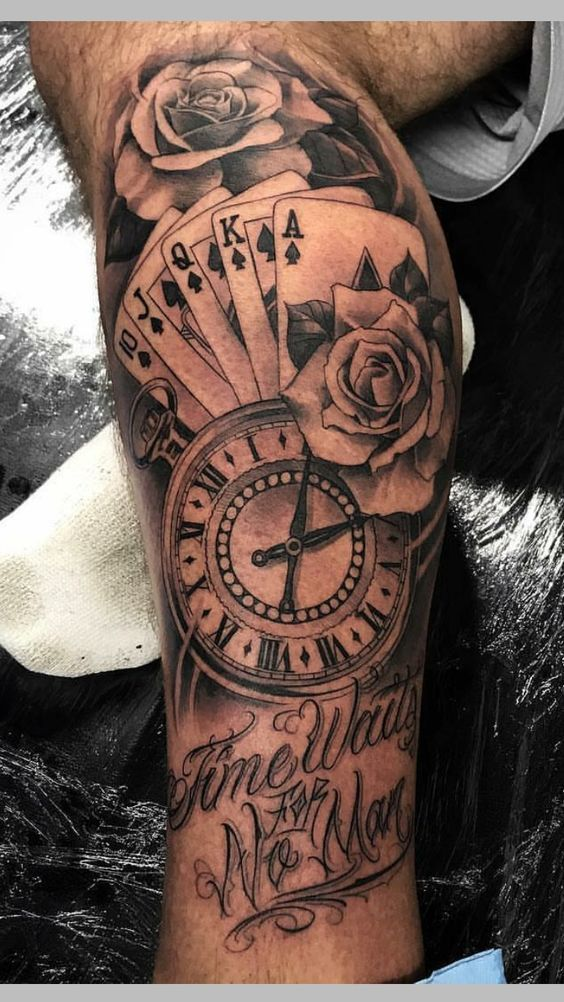 49+ AMAZING CLOCK TATTOOS IDEAS Tattoos for guys