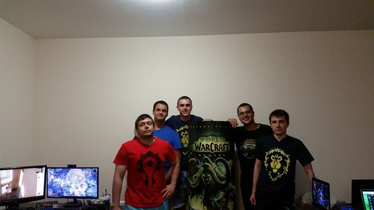Me and a few friends had a Legion launch LAN party. #worldofwarcraft #blizzard #Hearthstone #wow #Warcraft #BlizzardCS #gaming