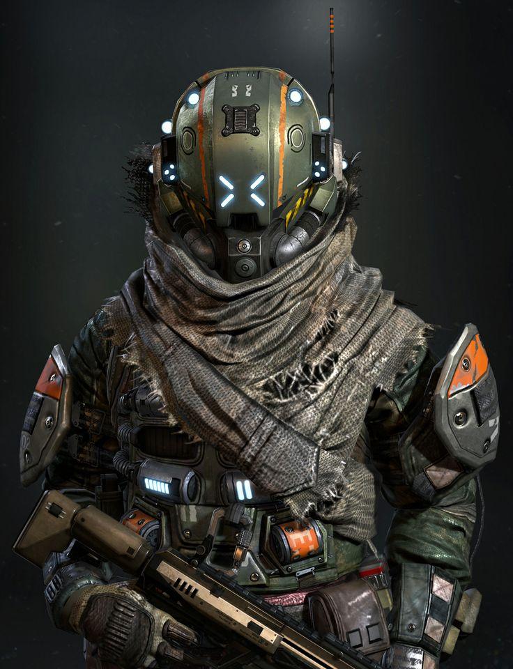 titanfall militia ���� ��� arts 3d pinterest
