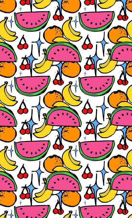 tutti frutti (fundas para celulares / iPad - tote bags - almohadones - cartucheras)