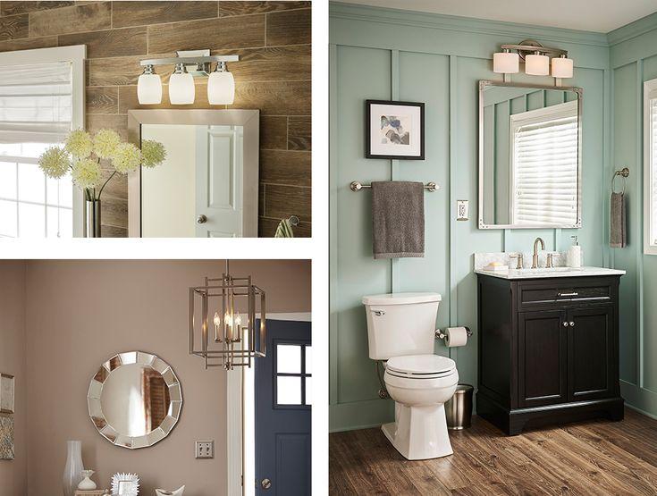 Brushed Nickel 2 Globe Vanity Bath Light Bar Interior: 325 Best Home Design Images On Pinterest