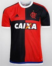 Camisa Adidas Flamengo 450 anos s/nº - Preto+Vermelho