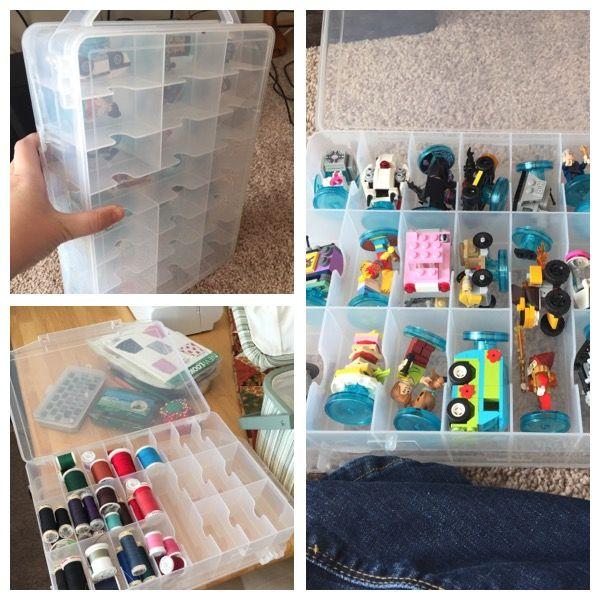 Lego Dimension storage from thread storage!!