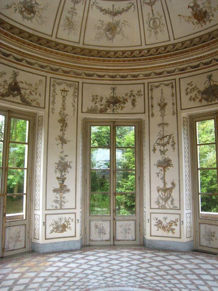Marie-Antoinette's Salle de Musique Palais de Versailles, Versailles, Ile de…
